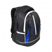 Pro's Pro Rucksack schwarz blau L109 Tennistasche