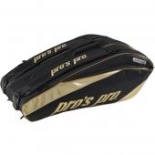 Pro's Pro 12-Racketbag Gold L092 tennistas