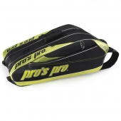 Pro's Pro 12-Racketbag Lime Tennistasche