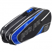 Pro's Pro 8-Racketbag schwarz-blau L110 Tennistasche