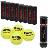 Pro's Pro 9 x Teloon Pound tennisballen 4-pet ITF approved