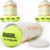 Pro's Pro 9 x Teloon X-Tour 4-pet ITF Tennisballen