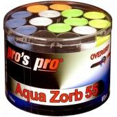Pro's Pro Aqua Zorb overgrip 0.55 mm 60 stuks multicolor