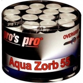 Pro's Pro Aqua Zorb overgrip 0.55 mm 60 stuks wit