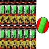 Pro's Pro BASIC GRIP B110 neon-groen 12 stuks