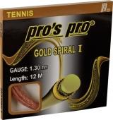 Pro's Pro Gold Spiral I tennissnaar 12 m.