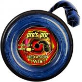 Pro's Pro Hexaspin Twist 200 m. blauwe tennissnaar
