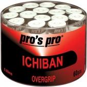 Pro's Pro Ichiban box met 60 overgrips wit