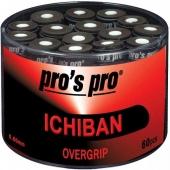 Pro's Pro Ichiban box met 60 overgrips zwart