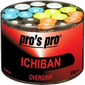 Pro's Pro Ichiban box met 60 overgrips multicolor