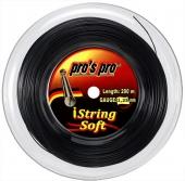 Pro's Pro iString Soft 200 m. Tennissaite schwarz 1.25