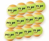 Pro's Pro Junior Soft Tennisballen 12 stuks