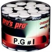 Pro's Pro P.G.1 60 stuks witte overgrips