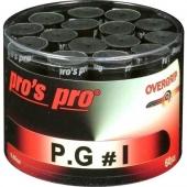 Pro's Pro P.G.1 60 stuks Zwarte overgrips