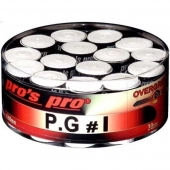 Pro's Pro P.G. 1 Overgrips 30er Box weiss