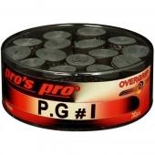 Pro's Pro P.G.1 overgrip 30 stuks zwart