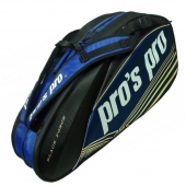 Pro's Pro 8-Racketbag Black Force schwarz-blau