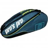 Pro's Pro 8-Racketbag blau-mele