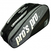 Pro's Pro 12-Racketbag Blackout