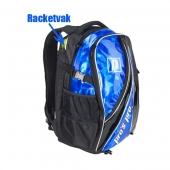 Pro's Pro Rugtas blauw-metallic L104 tennistas