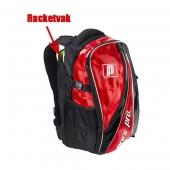 Pro's Pro Rucksack rot metallic L105 Tennistasche