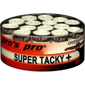 Pro's Pro Super Tacky Plus overgrip 30 stuks wit