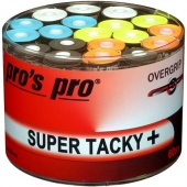 Pro's Pro Super Tacky Plus 60er Overgrips Mixed Colors