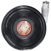 Pro's Pro Synthetic 1,35 mm. Zwart 200 m. tennissnaar