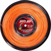 Pro's Pro Synthetic Power 200 m oranje tennissnaar 1.30