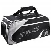 Pro's Pro Tennistasche schwarz silber L114