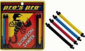 Pro's Pro Scorpion tennisracket demper 4 stuks