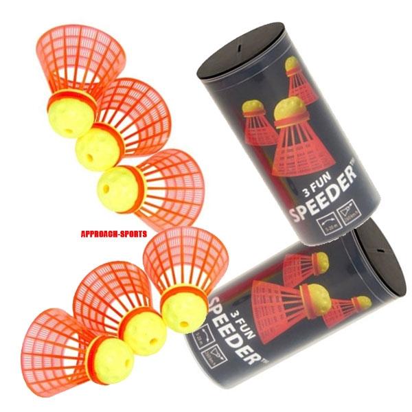 Speedminton® FUN Speeders 6er Speedbadminton