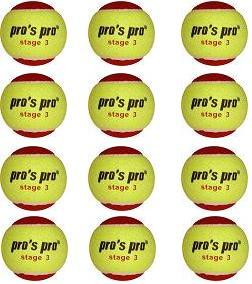 Pro's Pro Stage 3 XL Tennisbälle 12er