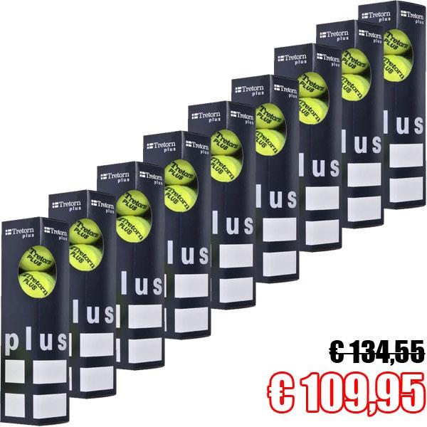 Tretorn Plus 36 Tennisbälle